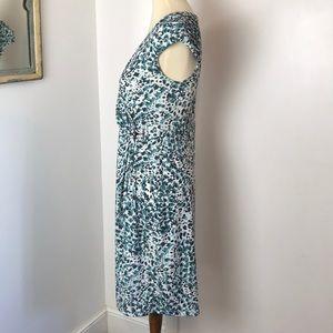 Apt. 9 Dresses - Apt. 9 Faux Wrap Leopard Print Dress M